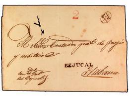 SPAIN: PREPHILATELIC MARKS  DP30 ISLAS DE CUBA Y PUERTO RICO - ...-1850 Prefilatelia