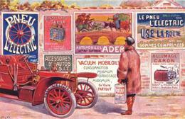LE PNEU L'ELECTRIC - Werbepostkarten