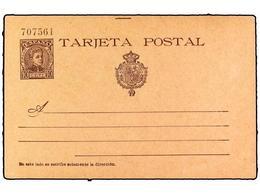 SPAIN POSTAL STATIONERY - Spagna