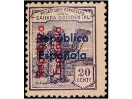 SAHARA: SPANISH DOMINION - Sahara Spagnolo