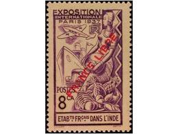 FRENCH INDIA - India (1892-1954)