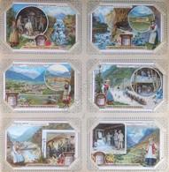 Figurine Liebig Italia - Sang. 870 - Il Traforo Del Sempione - 1906 - Liebig