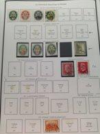 Ancien Timbres Allemand - Sammlungen (im Alben)