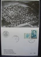 MicP. 11. Souvenir Du Vol Historique Au-dessus D'Ostende De S.M. Le Roi Albert 30-11-73 - Cartes Souvenir