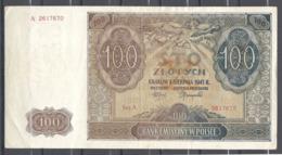 Pologne 100 Zlotych 1.8.1941 - Pologne