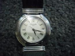MONTRE QUARTZ CHRISTOFLE PARIS - AVEC DATEUR - Horloge: Luxe