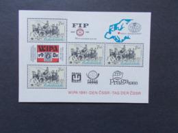 TCHECOSLOVAQUIE - BLOCS FEUILLETS  N° 50  Année 1981   NEUFS XX    ( 5 ) - Tchécoslovaquie