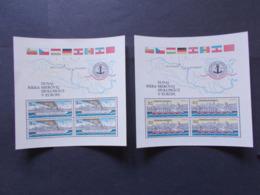 TCHECOSLOVAQUIE - BLOCS FEUILLETS  N° 57/58   Année 1982   NEUFS XX    ( 8 ) - Tchécoslovaquie