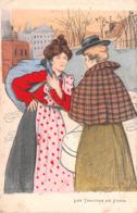 Illustrateur GOTTLOB - Les Trottins De PARIS - Künstlerkarten