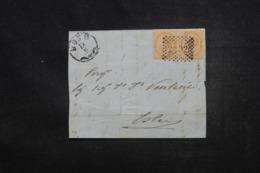 ITALIE - Lettre Pour Este, Affranchissement Plaisant - 45548 - Storia Postale
