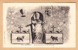 CPA Carnac, Saint-Cornely Et Ses Boeufs, Ungel. - Carnac