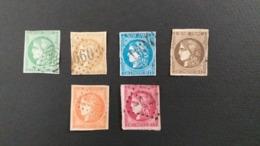 LOT N° 1074  FRANCE Lot De Bordeaux Obl. Cote 1080 € ( Beau A 2 Eme Choix ) Pas D'amincis - Briefmarken