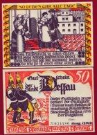 Allemagne 1 Notgeld 50 Pfenning  Stadt Dessau (RARE) Dans L 'état Lot N °4986 - [ 3] 1918-1933 : República De Weimar