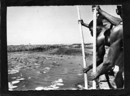 Zambezi  Ville De La Province Du Nord-ouest De La Zambie,Rameurs Sur Le Canal Située Sur Le Fleuve Zambèze 1961 - Zambia