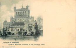 Alcala De Henares - Cpa Pionnière Dos 1900 Précurseur - Palacio Mudéjar , Propiedad De Don Carlos - Espana - Spain