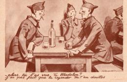 Militaria > Humoristiques A. ROUBILL Alors Tu L As Vue Ta Madelon ? - Umoristiche