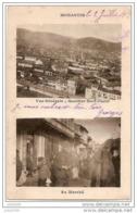 GUERRE 14-18 . MONASTIR ..-- SERBIE .-- Au Marché . 1918 Vers France . Voir Verso . - Serbie