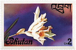 Ref. 354431 * NEW *  - BHUTAN . 1976. ORCHIDS. ORQUIDEAS - Bhután
