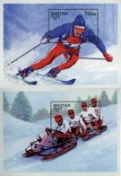 Ref. 72554 * NEW *  - BHUTAN . 1997. MEDALLERS OF THE WINTER OLYMPIC GAMES . MEDALLAS DE LOS JUEGOS OLIMPICOS DE INVIERN - Bhutan
