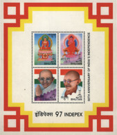 Ref. 368009 * NEW *  - BHUTAN . 1997. INDEPEX 97. 50th ANNIVERSARY OF INDIA INDEPENDENCE. INDEPEX 97. 50 ANIVERSARIO DE - Bhután