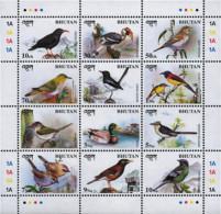 Ref. 292933 * NEW *  - BHUTAN . 1998. BIRDS. AVES - Bhután
