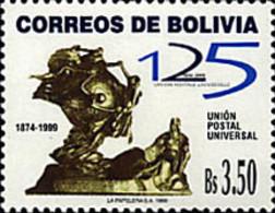 Ref. 41680 * NEW *  - BOLIVIA . 1999. 125th ANNIVERSARY OF UPU. 125 ANIVERSARIO DE LA UPU - Bolivia