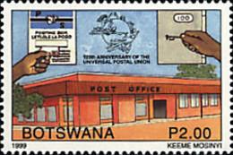 Ref. 50572 * NEW *  - BOTSWANA . 1999. 125th ANNIVERSARY OF UPU. 125 ANIVERSARIO DE LA UPU - Botswana (1966-...)