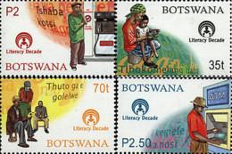 Ref. 81115 * NEW *  - BOTSWANA . 2000. DECADE OF LITERACY. DECADA DE LA ALFABETIZACION - Botswana (1966-...)