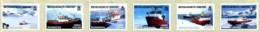 Ref. 272674 * NEW *  - BRITISH ANTARCTIC TERRITORY . 2011. SCIENTIFIC RESEARCH SHIPS. BARCOS DE INVESTIGACION - Territorio Antártico Británico  (BAT)