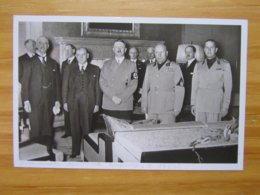 Foto-AK Viermächte-Konferenz 29.9.1938 In München PHOTO-HOFFMANN - War 1939-45