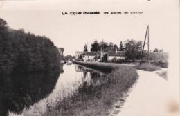 Champs Sur Yonne La Cour Barroe Les Bords Du Canal Carte Photo - Champs Sur Yonne