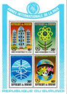Ref. 73496 * NEW *  - BURUNDI . 1987. INTERNATIONAL YEAR OF PEACE. A�O INTERNACIONAL DE LA PAZ - 1980-89: Neufs