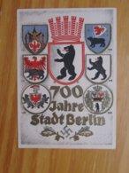 Sonder AK 700 Jahre Stadt Berlin Mit SST Berlin Fahrendes Postamt 1937 - Guerre 1939-45
