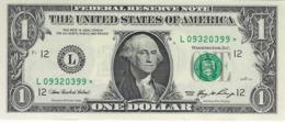 UNITED STATES 1 DOLLAR 2006 P-523L UNC STAR NOTE S/N L09320399 [US523L] - Biljetten Van De  Federal Reserve (1928-...)