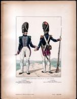 MILITARIA, Illustrateur JOB, 1er Regiment D'infanterie Francaise De La Garde Royale - Other