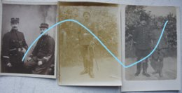 Photox8 GENDARMERIE RIJKSWACHT Gendarme Prévoté Militaire 1914-18 WW1 Guerre ABL WO1 Militaria - Photos
