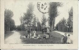 CP 32 - Solomiac La Mare Aux Grenouilles 1918 Au Dos - Autres Communes