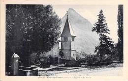 38 - PROVEYSIEUX : L'Eglise Et Le Néron - CPA Village ( 505 Habitants ) - - Francia