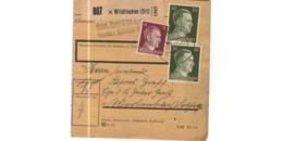 Allemagne  / Colis Postal  / Départ Wildflecken / 19-3-43 - Germany