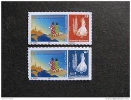 Nouvelle-Calédonie: TB Paire N°1232 Et N° 1233, Neufs XX . - Unused Stamps