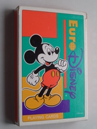 EURODISNEY Paris Cartes A Jouer - Speelkaarten - Playing Cards : Format +/- 12 X 18 Cm. !! Compleet ( Zie Foto's ) ! - Cartes à Jouer Classiques