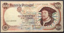 Ref. 673-1075 - BIN PORTUGAL . 1979. 500 ESCUDOS PORTUGAL 1979 - Portugal