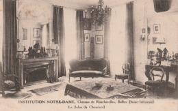 76 Bolbec. Institution Notre Dame. Chateau De Roncherolles. Le Salon - Bolbec