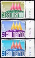 San Marino, 1977, 1127/29,  MNH **,  Briefmarkenausstellung SAN MARINO '77. - San Marino