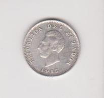1/2 Décimo De Sucre 1915 - Ecuador