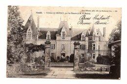 CPA Les Essarts (85) Château De Grissay, Par Les Essarts  Ecrite En 1905 - Les Essarts