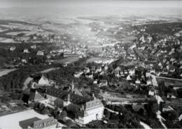 ! Backnang, Baden-Württemberg, Seltenes Luftbild 1927, Moderner Abzug, Nr. 5215, Format 18 X 13 Cm - Backnang