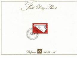 Belg. FDS 2008-11 OBP/COB 3780 Europa - De Brief / Europa - La Lettre - FDC