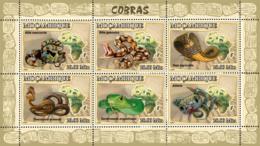 Mozambique 2007 MNH - Snakes. Sc 1779, YT 2372-2377, Mi 2998-3003 - Mozambique