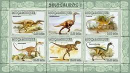 Mozambique 2007 MNH - Dinosaurs I. Sc 1766, YT 2396-2401, Mi 2964-2969 - Mozambique